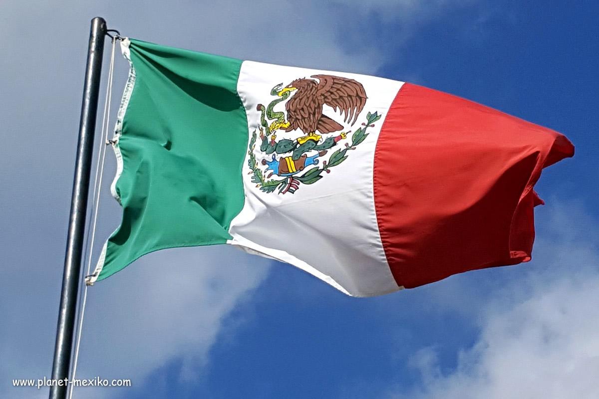 Nationalflagge Mexiko